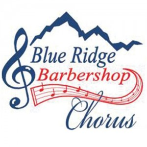 The Blue Ridge Barbershop Chorus logo.
